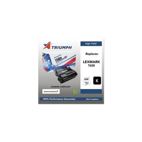 Triumph Remanufactured T650 High-Yield Toner Cartridge - Black Toner Cartridge
