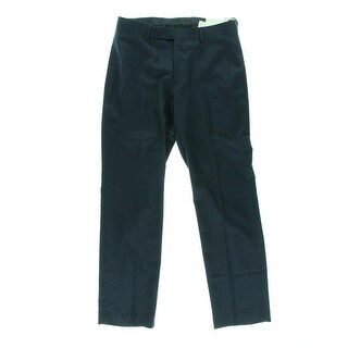 Calvin Klein Mens Flat Front Slim Fit Dress Pants - 33/32
