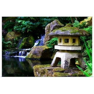 """Portland Japanese Garden"" Poster Print"