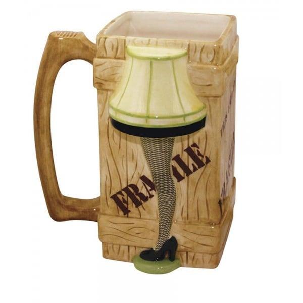 A Christmas Story Leg Lamp Molded 40oz Ceramic Mug - Multi