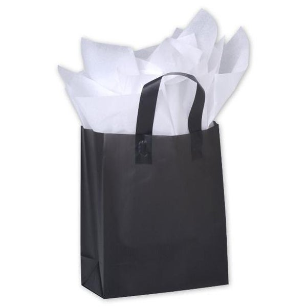Bags Bows By Deluxe Black Frosted High Density Pers