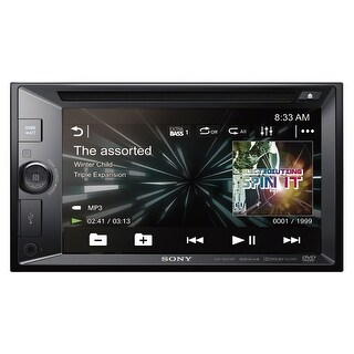 "Sony XAV-W651BT 6.2"" CD/DVD Touchscreen Receiver with Bluetooth"