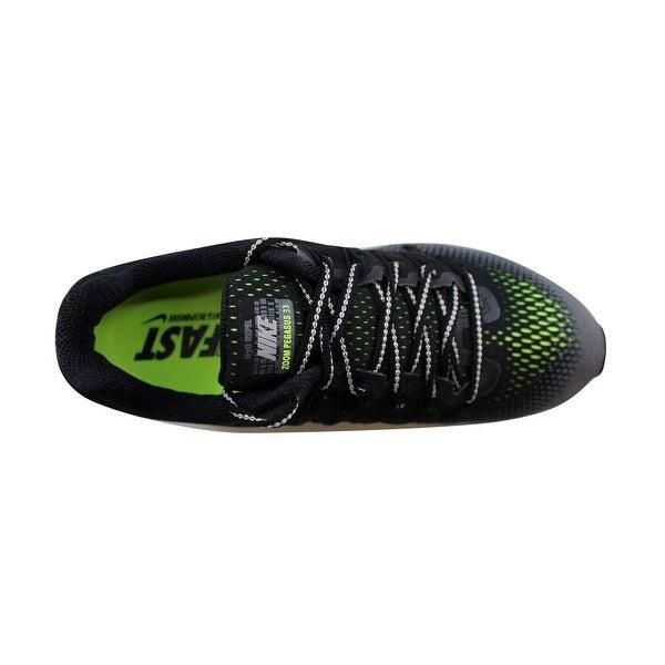 Shop Nike Women's Air Zoom Pegasus 33 Shield BlackMetallic