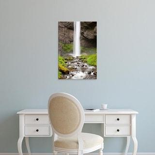 Easy Art Prints Jamie & Judy Wild's 'Latourell Falls And Latourell Creek' Premium Canvas Art