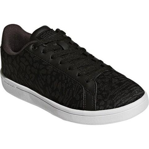adidas Women's NEO Cloudfoam Advantage Clean Court Shoe Core Black/Core Black/Utility Black F16