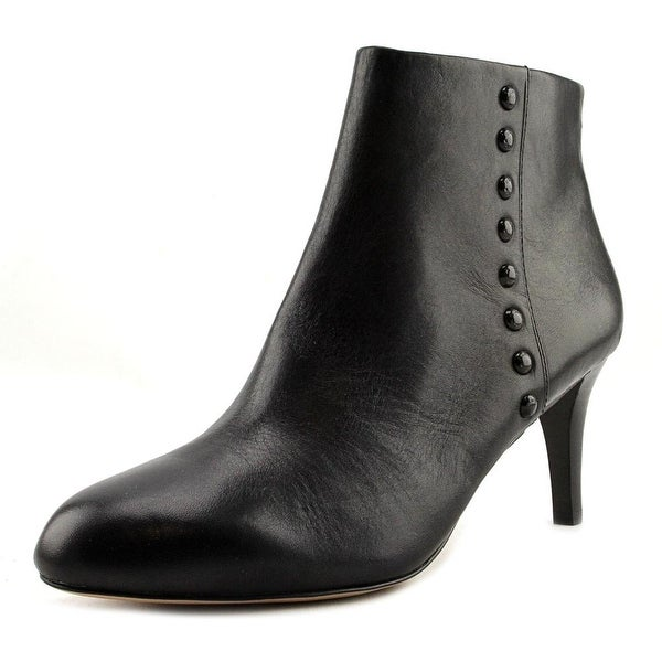 Coach Hickory Soft Shine Calf Pointed Toe Leather Ankle Boot