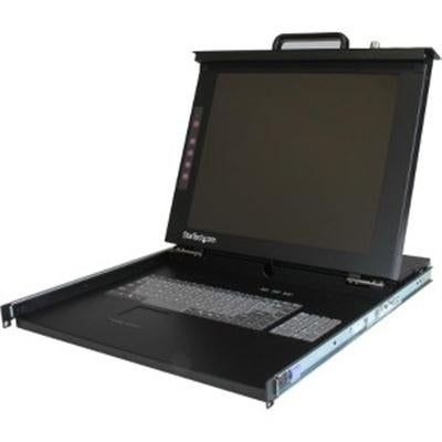 "Startech 1U 17 Rackmount Lcd Console - Usb + Ps/2 - 1 Computer(S) - 17 Active Matrix Tft Lcd - 1U Height ""Product Ca"