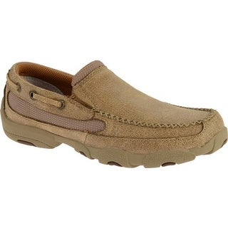 Twisted X Boots Children's Slip On Driving Moc Dusty Tan Leather