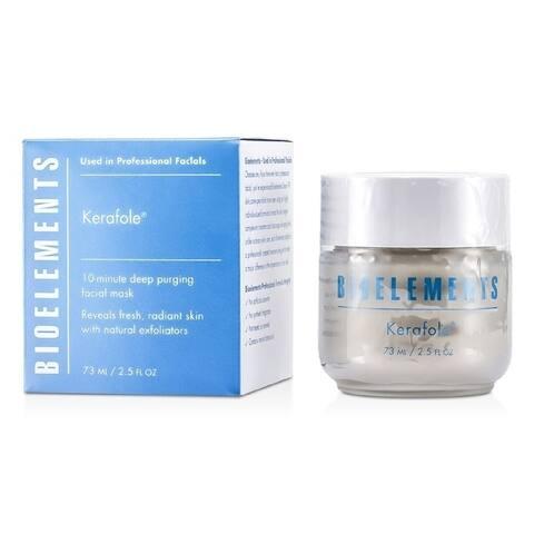 Bioelements - Kerafole - 10-Minute Deep Purging Facial Mask - For All Skin Types, Except Sensitive(73Ml/2 5Oz)