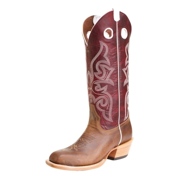 Horse Power Western Boots Mens Cowboy Pull Loops Saddle Mad Dog