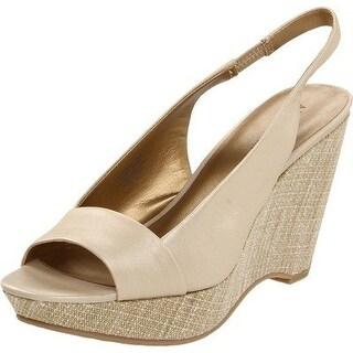 AK Anne Klein Women's Fortuna Wedge Sandal