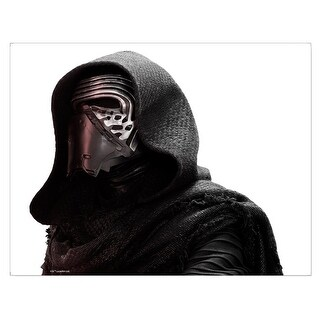 Star Wars Fanwraps Passenger Series Kylo Ren Window Decal - multi