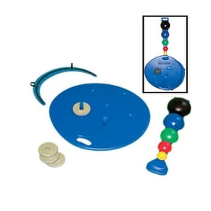 Multi-Axial Positioning System -Board, 5-Ball Set, Rack, 2 Weight Rods & Weights