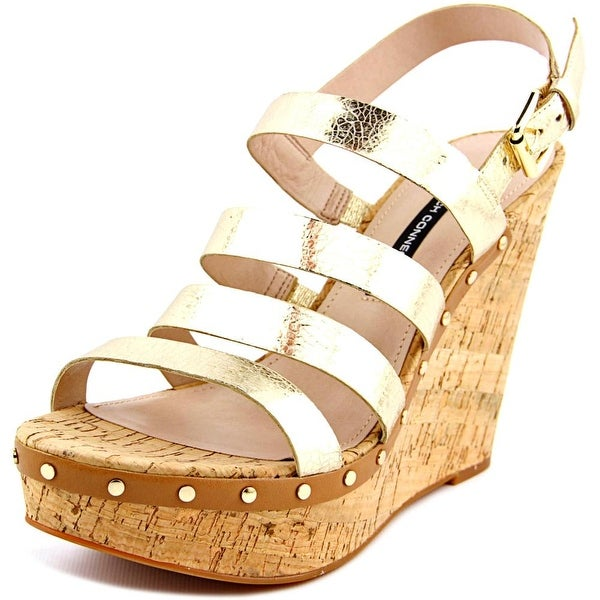 French Connection Deon Women Lt Gold/Saf Sand Sandals