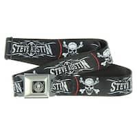 Stone Cold Steve Austin Seatbelt Belt (For Pants)