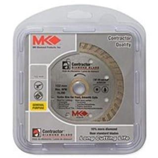 "Mk Diamond 167021-CN Turbo Saw Blade 4.5""x0.080""x20mm"