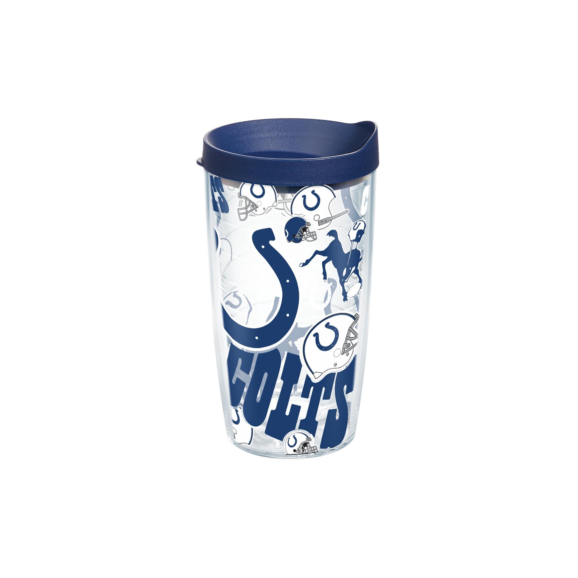 24-16 oz Indianapolis Colts Reusable Plastic Cups