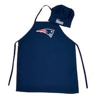 New England Patriots Sports Team Logo Apron and Chef Hat