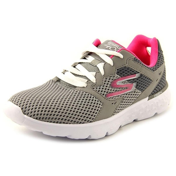 Skechers Go Run 400 Round Toe Canvas Running Shoe
