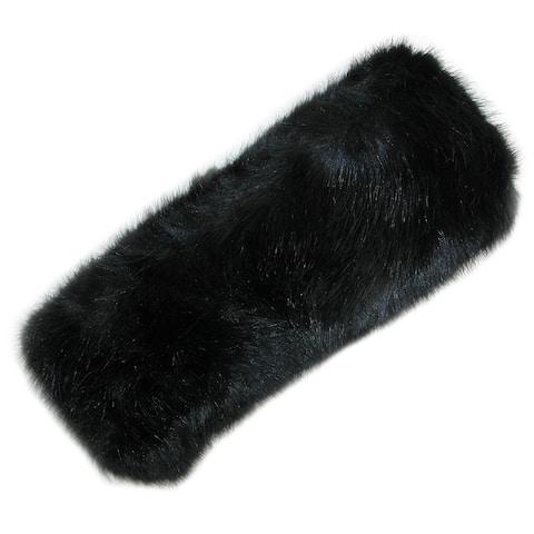 Pia Rossini Women's Faux Fur Headband with Fleece Lining