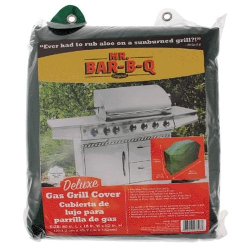 """Mr. Bar-B-Q 07003XEF Deluxe Gas Grill Cover, X-Large, 80""""x18""""x52"""""""