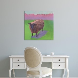 Easy Art Prints Carol Young's 'Pasture Sheep' Premium Canvas Art