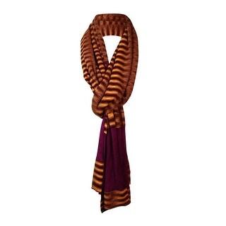 Missoni Women's Space-Knit Wool Blend Scarf - multi orange - os