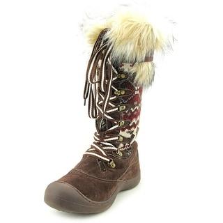Muk Luks Gwen Tall Women Round Toe Canvas Snow Boot