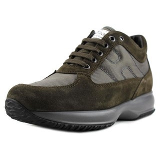 Tod's HXM00N000101QV347F Round Toe Suede Hiking Shoe