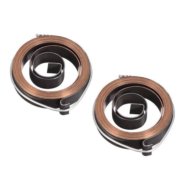 Drill Press Quill Feed Return Coil Spring Assembly 1540mm 51x12x0.7mm 2pcs - 0.7 x 12 x 1540mm