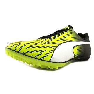 Puma evoSPEED Sprint 7 Men  Round Toe Synthetic Yellow Running Shoe