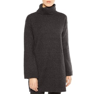 Sage Womens Pullover Sweater Turtleneck Tunic