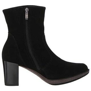 ara Women's Bristol 42550 Ankle Boot Black Suede