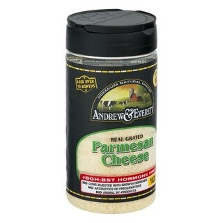Grated Parmesan Cheese 7 Ounces (Case of 12)
