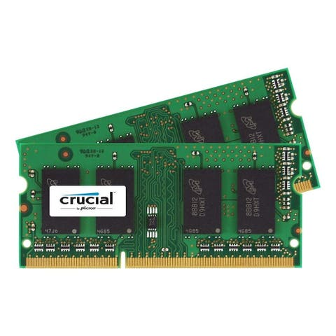 Crucial CT2KIT102464BF1M Crucial 16GB Kit (8GBx2) DDR3 1600 MT/s (PC3-12800) CL11 SODIMM 204-Pin 1.35V/1.5V Notebook Memory