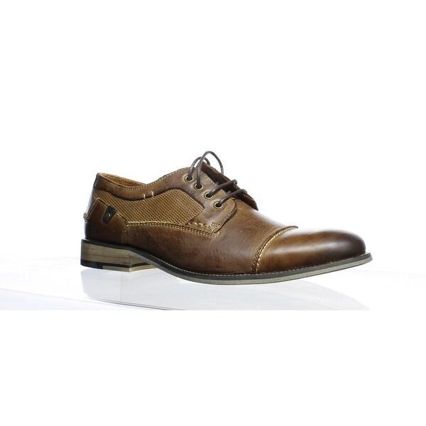 420acf9bde5 Shop Steve Madden Mens Jagwar Tan Oxford Dress Shoe Size 8.5 - On ...