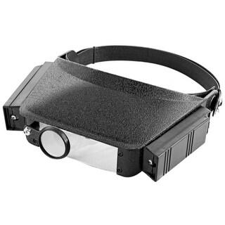 TradesPro Lighted Head Visor Magnifier - 837475