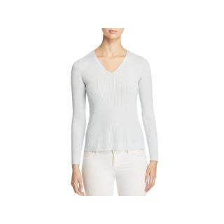 Eileen Fisher Womens Pullover Sweater Tencel Long Sleeves