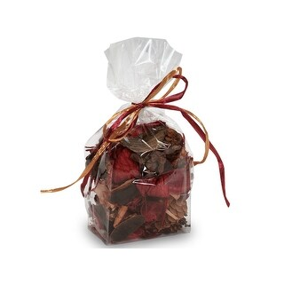 "Pack Of 100, Solid Cello Bags 3.5 X 2.25 X 9.75"" Clear Gusset Style Cello Bags 1.2 Mil For Cups, Mug, Candle, Gift & Food Item"