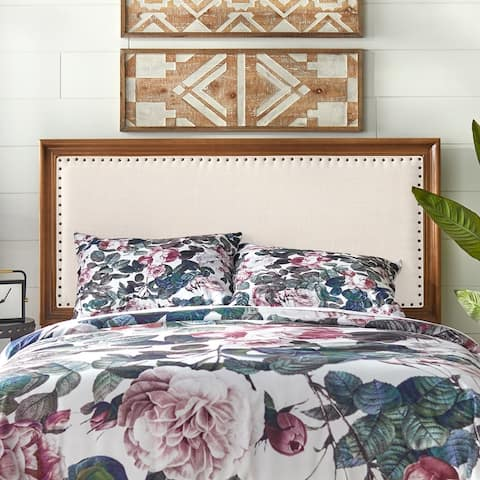 Simple Living Shaye Upholstered Queen Bed