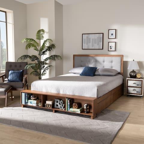 Cosma Modern Transitional 4-Drawer Full Size Platform Storage Bed