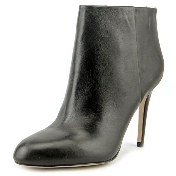 Sam Edelman Kourtney Women Round Toe Leather Black Ankle Boot