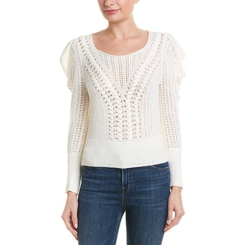 Bcbgmaxazria Puffed Sleeve Sweater