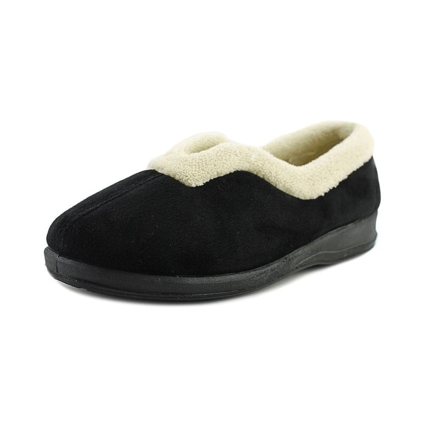Spring Step Cindy Women Round Toe Synthetic Black Slipper