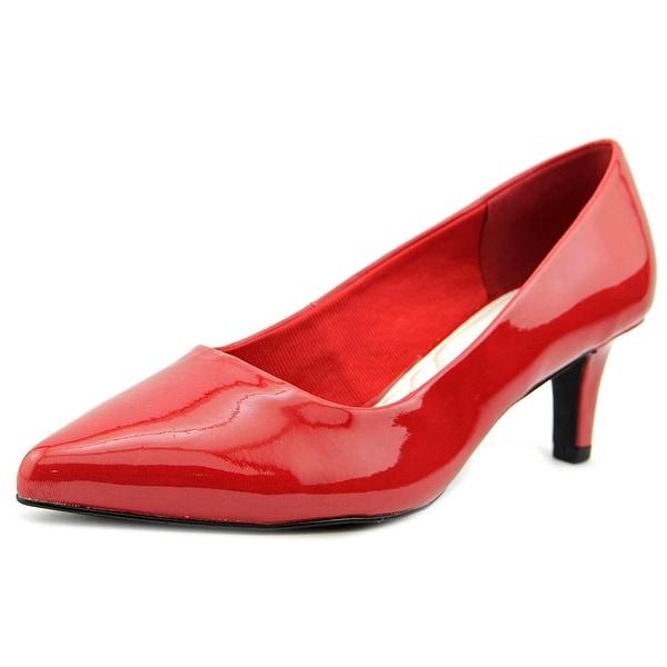 Easy Street Pointe Women Pointed Toe Synthetic Heels