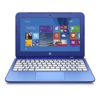 HP Stream 11-d010wm 11.6 Laptop Intel Celeron N2840 2.16GHz 2GB 32GB SSD Win8.1