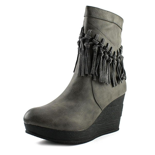 Sbicca Rhonnie Women Round Toe Synthetic Mid Calf Boot