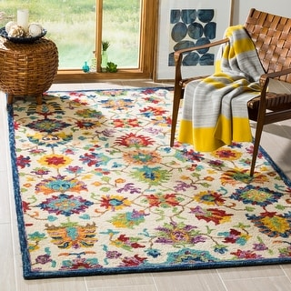 Link to Safavieh Handmade Aspen Agatha Boho Tribal Wool Rug Similar Items in Casual Rugs