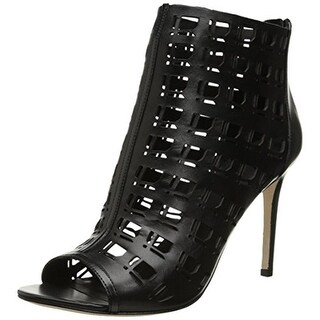 Charles David Womens Iva Leather Cut-Out Pumps