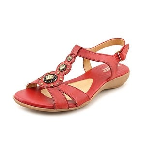 Naturalizer Carlita Open-Toe Leather Slingback Sandal